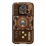 Cámara de Steampunk TLR del vintage Fundas De Galaxy S5
