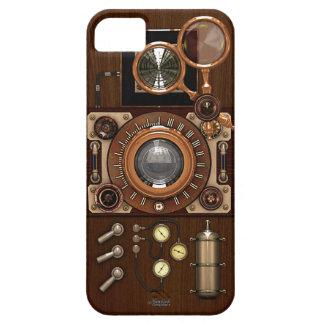 Cámara de Steampunk TLR del vintage Funda Para iPhone SE/5/5s
