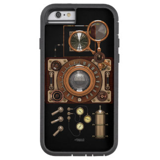 Cámara de Steampunk TLR del vintage (oscura) Funda Para iPhone 6 Tough Xtreme