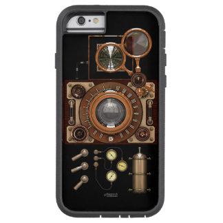 Cámara de Steampunk TLR del vintage (oscura) Funda Tough Xtreme iPhone 6