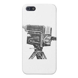 cámara de televisión del estudio de la difusión de iPhone 5 funda