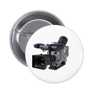 cámara de vídeo profesional pin redondo de 2 pulgadas