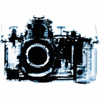 CÁMARA DE VISION DE LA RADIOGRAFÍA - AZUL ESCULTURA FOTOGRÁFICA