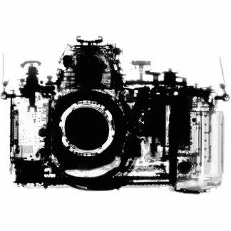CÁMARA DE VISION DE LA RADIOGRAFÍA - NEGRO Y BLANC ESCULTURAS FOTOGRÁFICAS