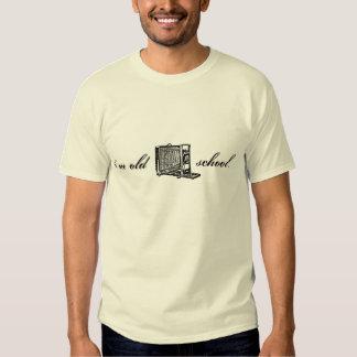 Cámara de visión soy escuela vieja camisas
