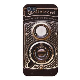 Cámara del art déco de Rolleicord iPhone 5 Funda