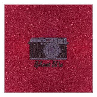 Cámara del brillo arte fotografico