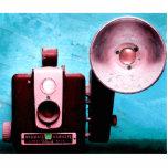 Cámara del brownie de Hawkeye del vintage Fotoescultura Vertical