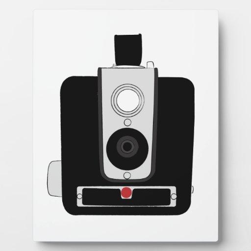 cámara del brownie placa para mostrar
