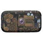 Cámara del engranaje del indicador de Steampunk Galaxy S3 Coberturas