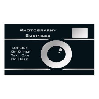 Cámara del fotógrafo plantilla de tarjeta de visita