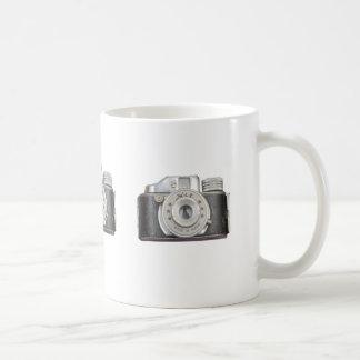 Cámara del golpe taza de café