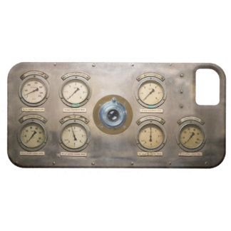 Cámara del motor de vapor funda para iPhone SE/5/5s