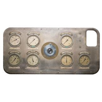 Cámara del motor de vapor iPhone 5 fundas