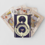 Cámara del vintage baraja cartas de poker