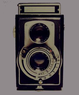 cámara del vintage camiseta