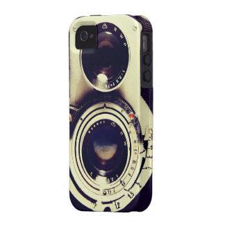 Cámara del vintage Case-Mate iPhone 4 carcasas