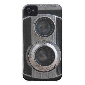 Cámara del vintage Case-Mate iPhone 4 funda