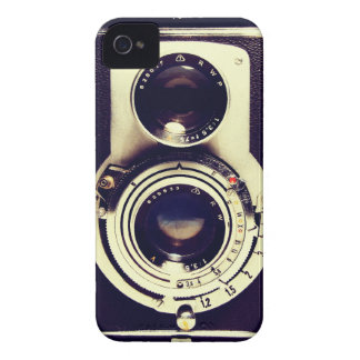 Cámara del vintage iPhone 4 Case-Mate funda