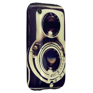 Cámara del vintage tough iPhone 3 protector