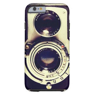 Cámara del vintage funda de iPhone 6 tough