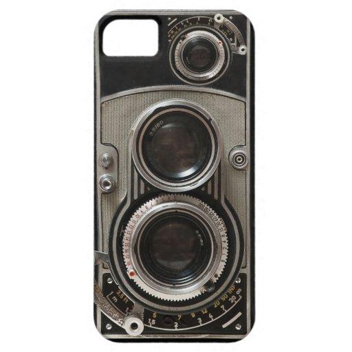Cámara del vintage iPhone 5 Case-Mate cárcasa