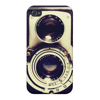 Cámara del vintage iPhone 4 cárcasas