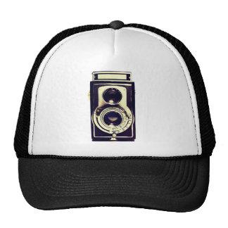 Cámara del vintage gorra
