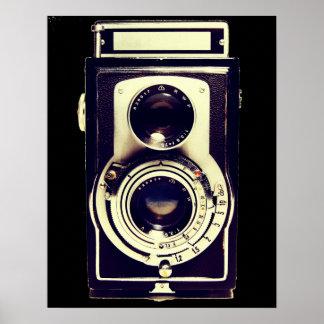 Cámara del vintage impresiones