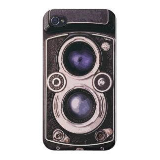 Cámara del vintage iPhone 4/4S funda