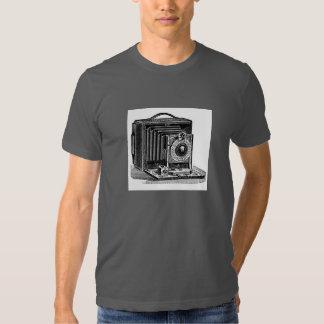 Cámara del vintage para los fotógrafos polera