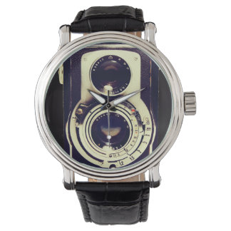 Cámara del vintage reloj