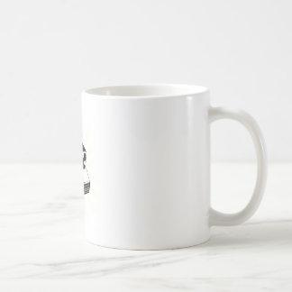 Cámara del vintage taza clásica