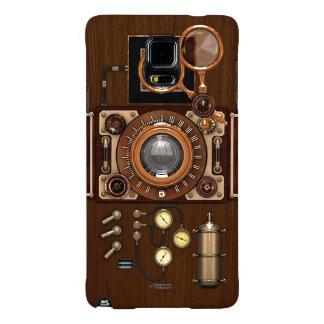 Cámara del vintage TLR de Steampunk Funda Galaxy Note 4