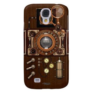Cámara del vintage TLR de Steampunk Funda Para Galaxy S4