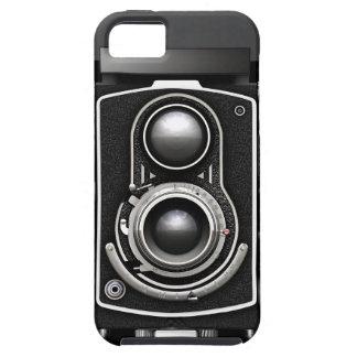 Cámara del vintage TLR iPhone 5 Case-Mate Cárcasa