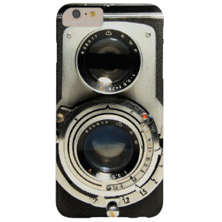 Cámara del vintage - vieja mirada de la antigüedad funda para iPhone 6 plus barely there