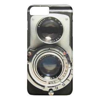 Cámara del vintage - vieja mirada de la antigüedad funda iPhone 7 plus