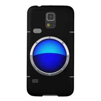 Cámara digital azul