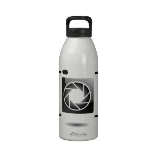 Cámara digital botella de beber