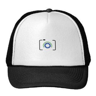 Cámara digital con una abertura redonda gorras