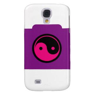 Cámara digital con ying el símbolo de yang funda para samsung galaxy s4
