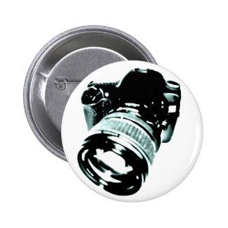 cámara digital - estilo retro pins
