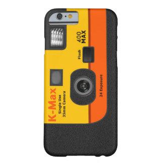 Cámara disponible - naranja I6 Funda Barely There iPhone 6