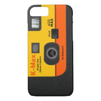 Cámara disponible - naranja I6 Funda iPhone 7