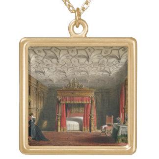 Cámara embutida, Sizergh, Westmoreland, 1849 (w/c  Colgante Cuadrado
