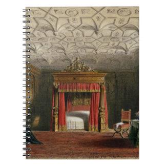 Cámara embutida, Sizergh, Westmoreland, 1849 (w/c  Cuaderno