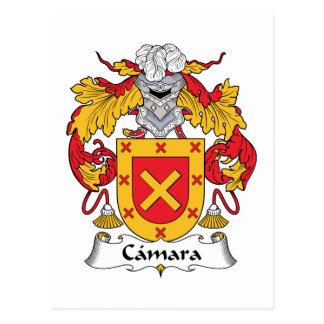 Camara Family Crest Postcard