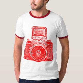 Cámara germanooriental gigante - rojo playera