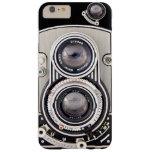 Cámara hermosa del vintage funda de iPhone 6 plus barely there